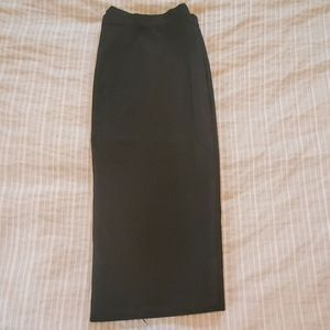 Ann Taylor black pencil skirt size 10